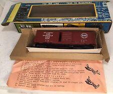 Atlantic & Danville RR 41' PS-1 Box Car AHM  #5237 Original Box HO Vintage C1967