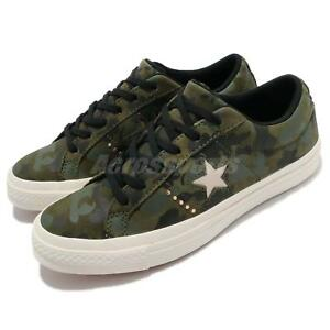 966536b63ebc Converse One Star Camo Green White Men Shoes Sneakers Trainers ...