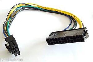 24 To 10 Pin Atx Lenovo Psu Alimentation Carte Mère Câble Adaptateur Fil Plomb-afficher Le Titre D'origine Gagner Les éLoges Des Clients