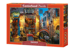 "Castorland Puzzle 3000 Pieces PLACE IN VENIC 92x68cm 36""x27"" Sealed box C-300426"