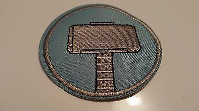 Mjolner Thor Hammer Biker Skinhead Jacket Iron//Sew-on Embroidered Patch// Logo