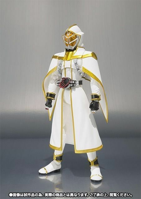 S.H.Figuarts Masked Kamen Rider Weiß WIZARD Action Figure BANDAI from Japan