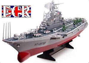 Rc radio t l commande marine porte avion navire bateau id al pour canotage lacs ebay - Porte avion gi joe a vendre ...