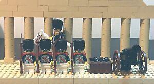 LEGO-IMPERIAL-SOLDATI-Napoleone-Vecchia-Guardia-Set-NUOVO-Design-personalizzato-LEGO