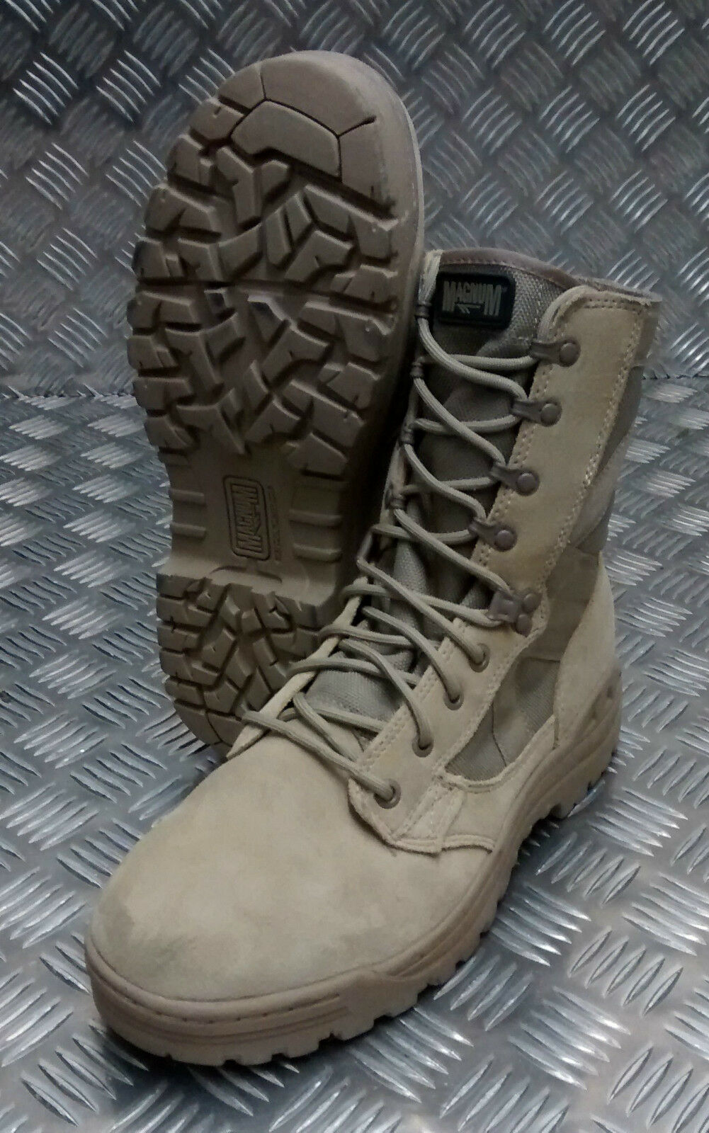 Genuine British Army Issue Magnum Scorpion Desert Assault / Combat Stiefel
