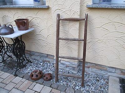 Ausdauernd Alte Holzleiter 103 Deco Blumenampel Baumleiter Handtuchhalter Kleiderhalter