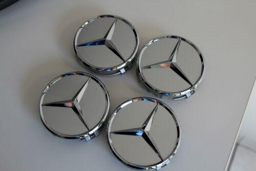 originale Mercedes Copricerchi Coprimozzo Taglio per cerchi in allumio
