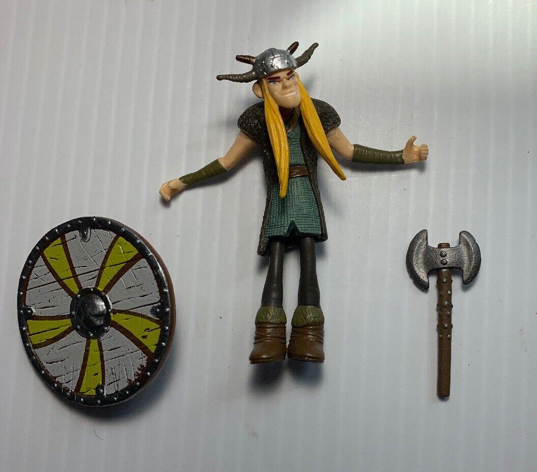 Cómo Entrenar a Tu Dragón Serie 3 Tuffnut Figura de Acción 2010 Spin Master