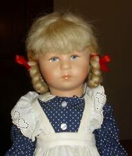 Käthe Kruse Puppe  - Mädchen - 47 cm- unbespielter Zustand