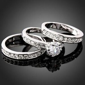 3in1-Fashion-Crystal-CZ-White-Gold-Plated-GP-Engagement-Wedding-Band-Rings