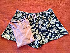 Jockey Sleepwear Women's Plus Size 3X Knit Boxer Pajama Set Nomad Floral X1C