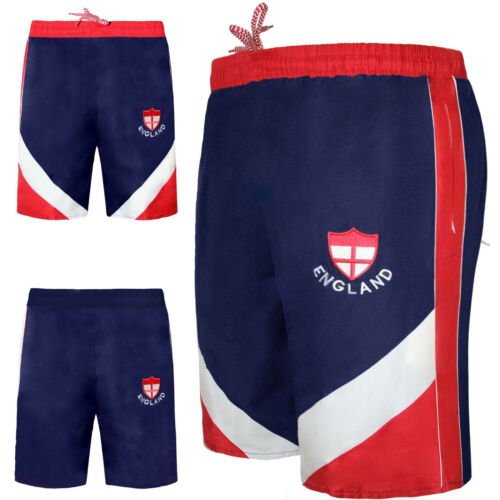 Men/'s England mondiali di calcio Short Sport da Palestra Running Training Vacanza M-XL