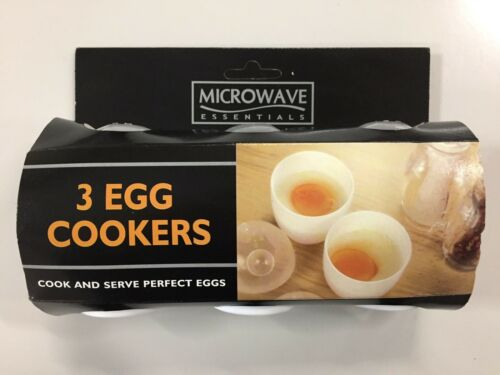 Microwave Essentials 3 Egg Cookers For Microwave