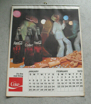 Coca-Cola 2020 12 month 12 x 12 Wall Calendar Vintage Nostalgia Anytime Coke