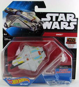Star Wars Hot Wheels Ghost DRX07  NEW  NEU OVP