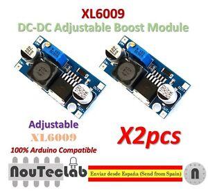 2pcs-XL6009-DC-DC-Booster-module-Power-supply-adjustable-Super-LM2577-step-up