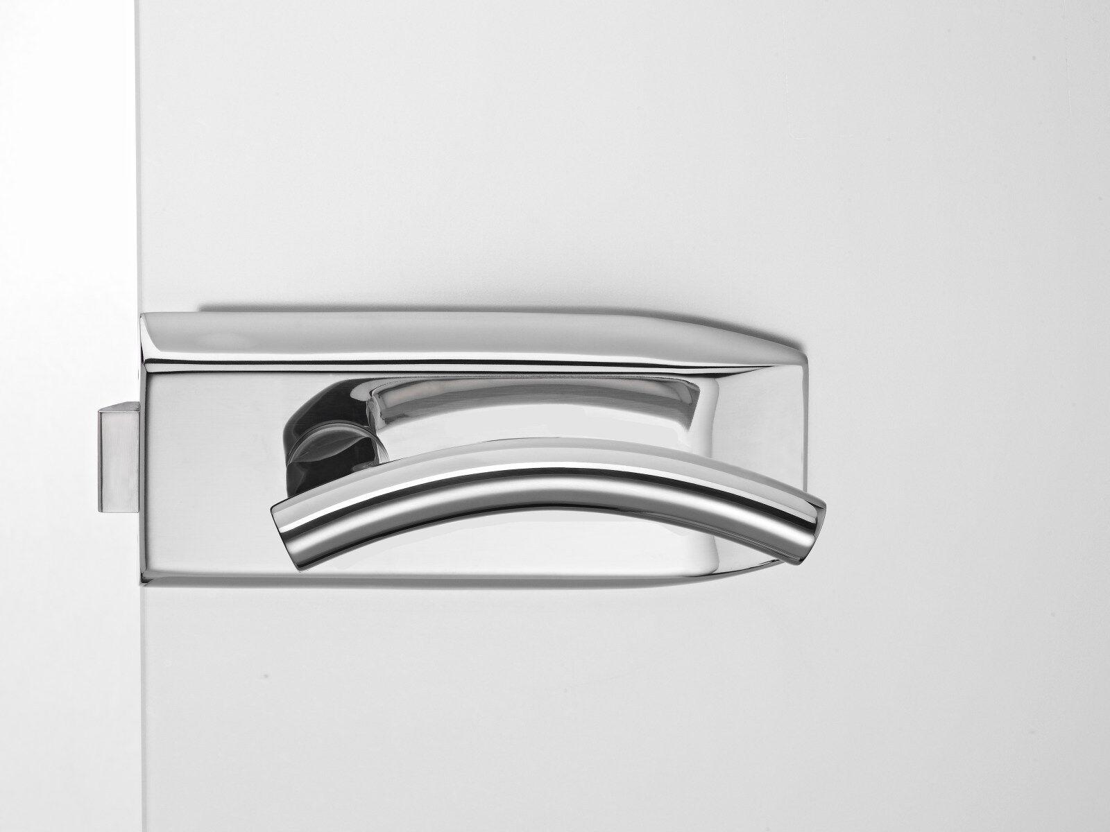 Glastürbeschlagset V100E.CH.UV-LH107 Edelstahl poliert | Zuverlässige Leistung  | Niedrige Kosten  | Üppiges Design  | Sehr gute Farbe