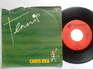 Chris-Rea-Tennis-7-034-Vinyl-Single-1980-mit-Schutzhuelle