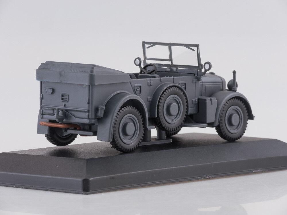 Modelo Modelo Modelo de escala 1 43 Horch 901, gris oscuro mate, 1937 b36f45