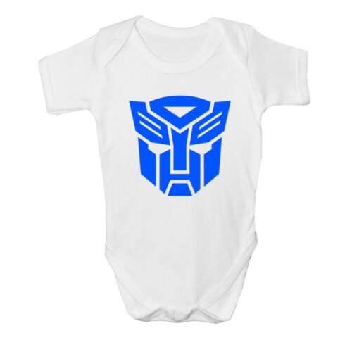 New Transformers Baby vest Cute Funny Bodysuit Romper Gift Prime Christening