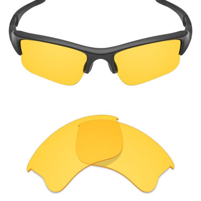 1ffdb8d7a2a1 Mryok Replacement Lenses for-Oakley Flak Jacket XLJ Sunglasses HD Yellow