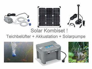 30 solar teichbel fter akku sauerstoff pumpe gartenteich teich solarpumpe l fter ebay. Black Bedroom Furniture Sets. Home Design Ideas