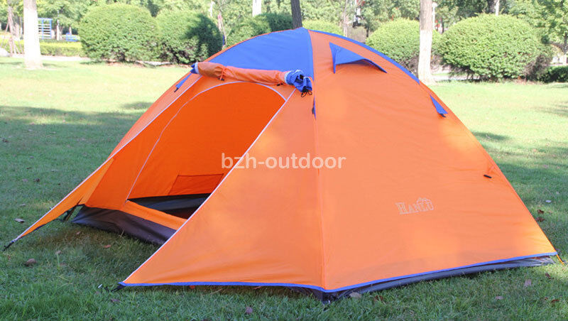 2 Person Double Layer Waterproof Windproof Camping Hiking Outdoor Couple Tent