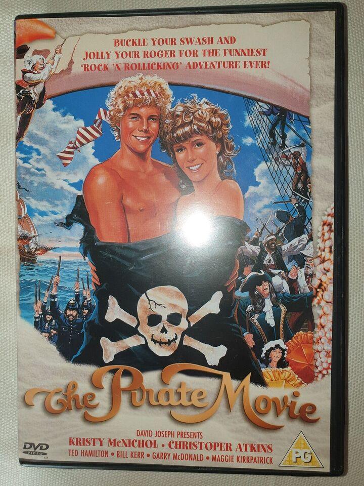 The pirate movie, DVD, eventyr