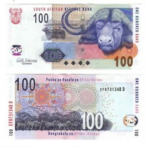 SOUTH AFRICA 100 Rand Gill Marcus (2005) ND P-131b UNC Banknote