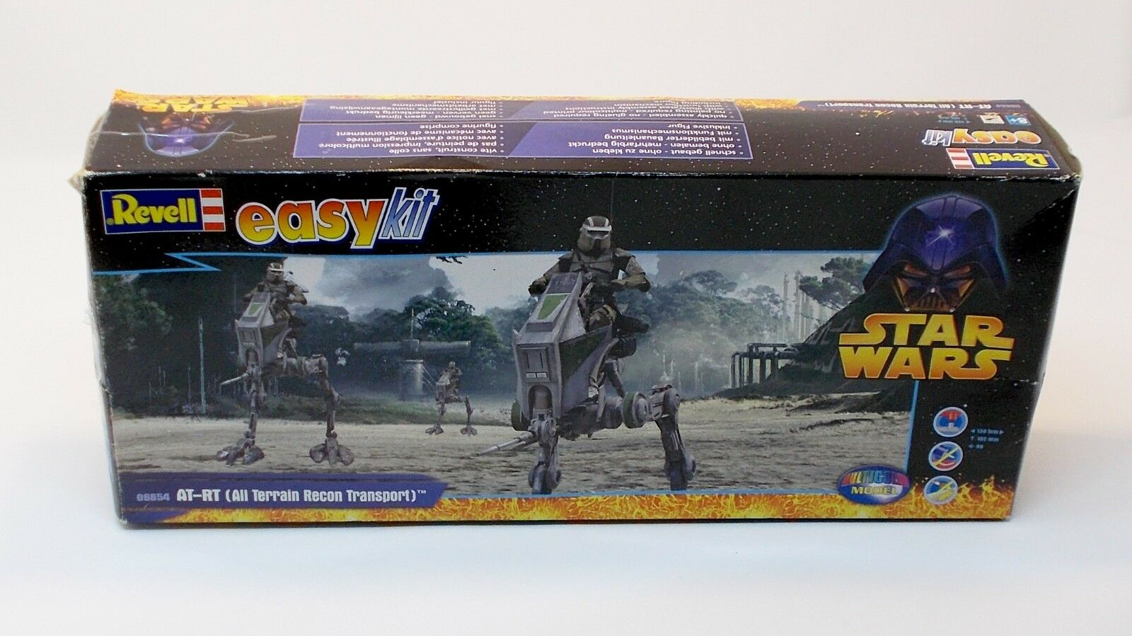 Star Wars AT RT Revell Easy Kit With Box