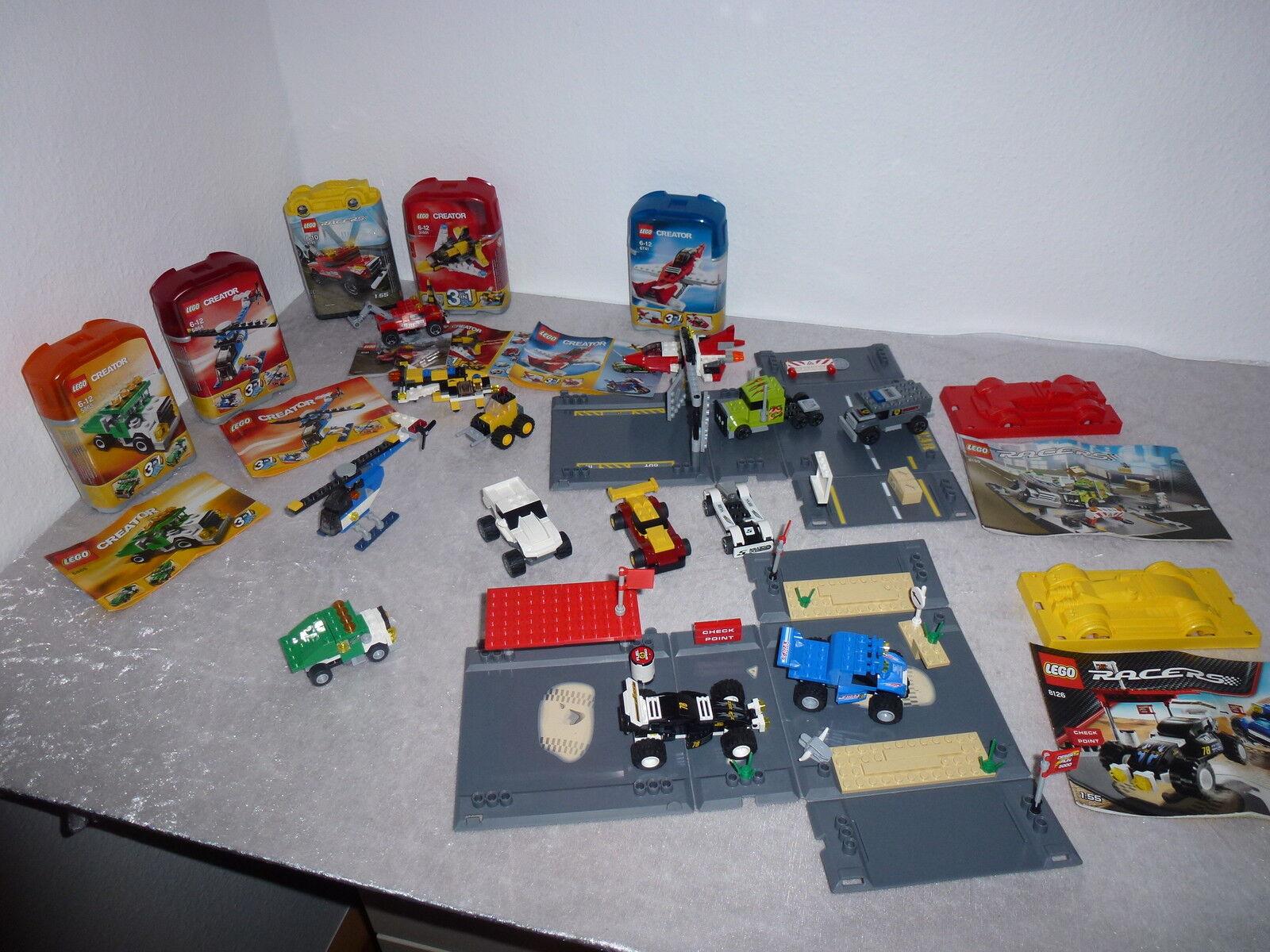 LEGO  CREATOR raccolta 8199+8126+8195+5865+5864+6741+31001+uvm+oba+ovp (11)  fino al 42% di sconto
