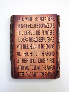 WILFERD-PETERSON-Wood-Sign-Inspirational-Quote-on-Natural-Edge-Wood-Plaque