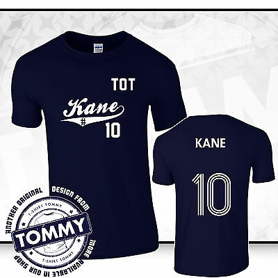 finest selection b9f0d 51ea4 Tottenham Hotspurs Harry Kane t-shirt, Spurs Fan T-Shirt, Kane # 10 COYS |  eBay