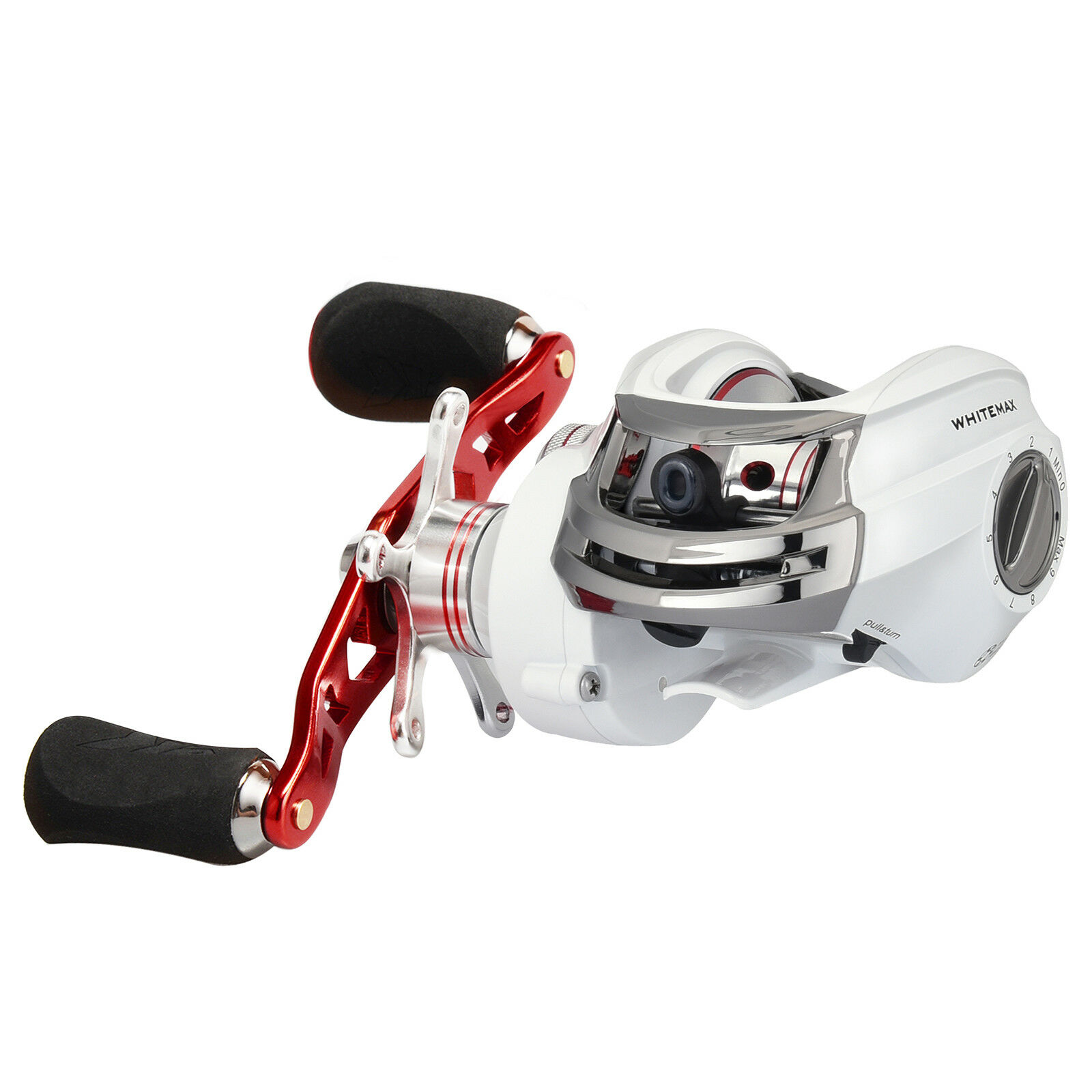 KastKing WhiteMax  Perfect Low Profile Reel - 5.3 1 Gear Ratio Baitcasting Reel  all in high quality and low price