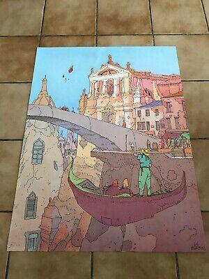 Affiche Offset  Venise Daniel Maghen