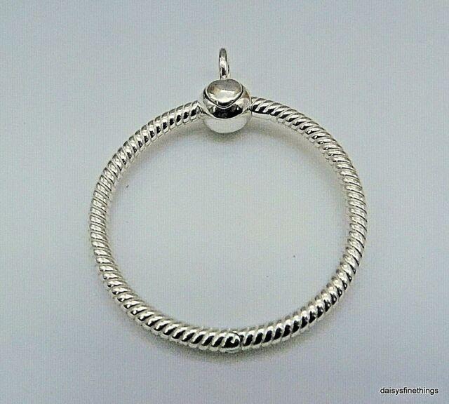 Authentic Pandora Silver Pendant Moments O Pendant Medium 398256 For Sale Online