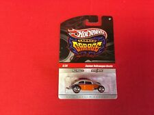 1:64 Hot Wheels Larry's Garage Signed Chase Custom VW Beetle Silver & Orange