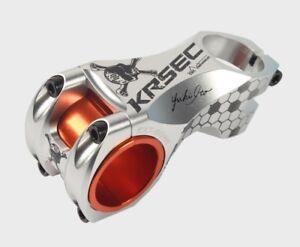 Aluminum Mountain MTB Road Bike 25.4//31.8*60mm  ±7° handlebar stems Stem Silver