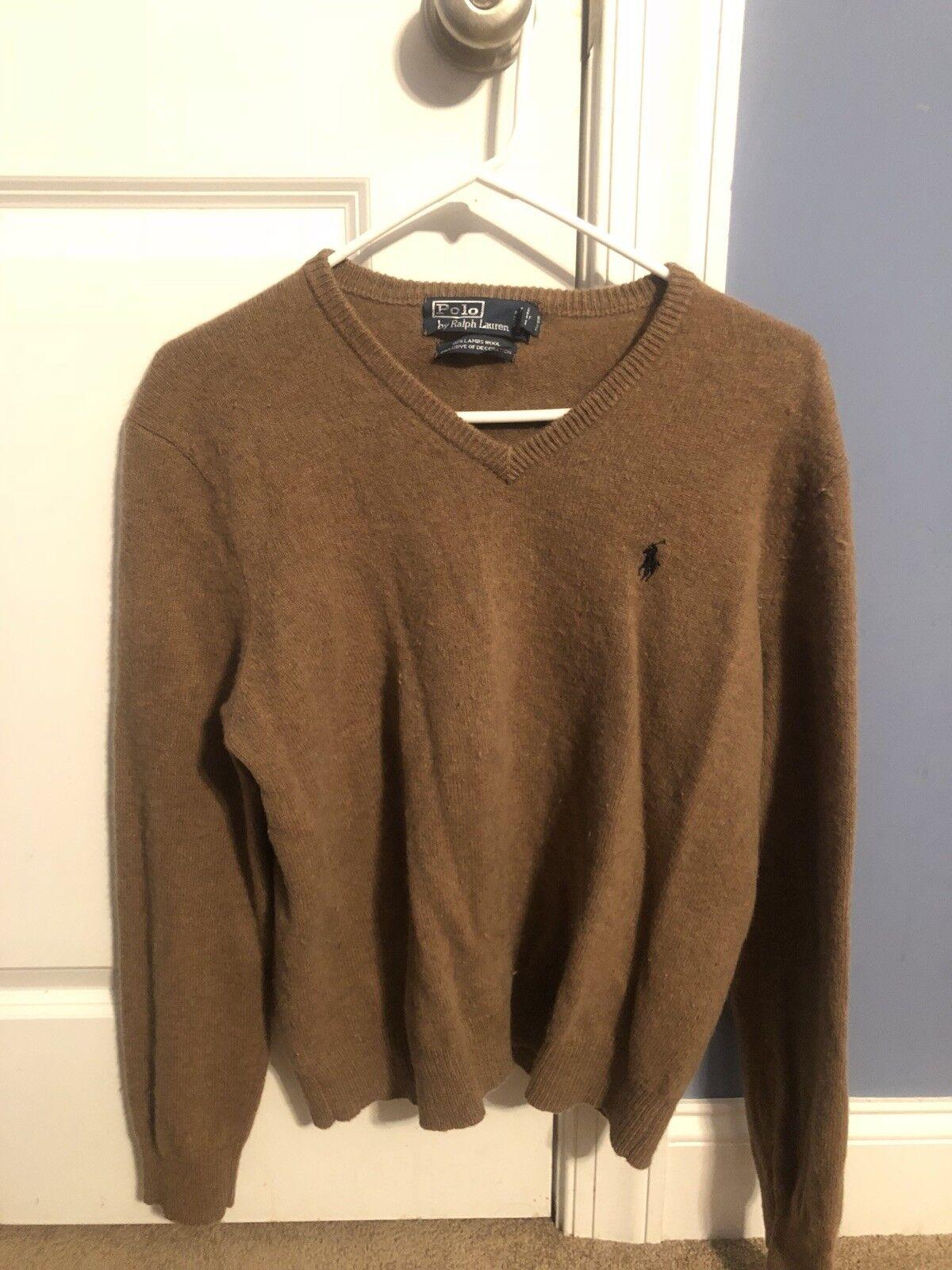Herren Polo Ralph Lauren Lambs Wool Sweater