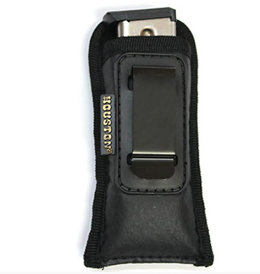 19 21 Single Mag IWB Leather Magazine Pouch for Glock 17