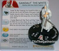 Gandalf The White 027 Lord Of The Rings: The Two Towers Lotr Heroclix Rare