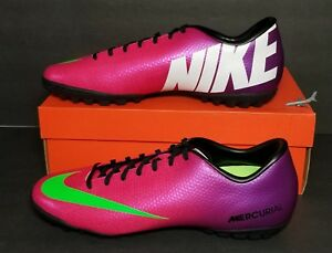 20ebfadff NIKE MERCURIAL VICTORY IV TF MEN S SIZE 11.5 NEW IN BOX 555615 635 ...