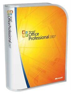 Microsoft-OFFICE-2007-Professional-2-PC-Vollversion-Deutsch