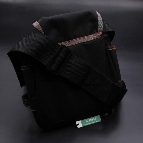 Tool Bag Holder Storage Organizer Pouch Adjustable Waist Strap Electric Tools