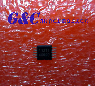 5PCS IC TPS40009  TPS40009DGQR TI REG CTRLR BUCK PWM VM 10-MSOP New GOOD QUALITY
