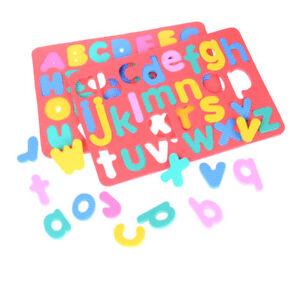 EVA Foam Puzzle Letters English alphabet picture Puzzle Childrens Kids LearningP