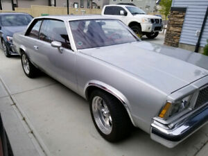 1978 Chevy Malibu with a RAMJET 350 Crate Engine