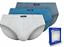 Herren 3-Pack SLIP Brief Unterhose Männer 100/% Baumwolle klassische Slips K495