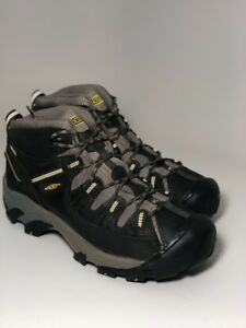 325270afceb Keen Men s Targhee Ii Mid Wide Wp-M Black Olive Yellow 1013124