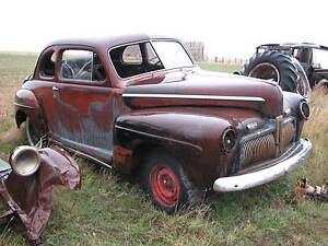 1948 Ford Sedan Coupe Con 1942 Frente Clip
